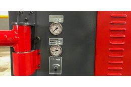Ленточный шлифовальный станок CORMAK 75x1320 ФОТО 5 - kma.ua